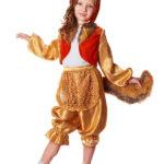 новогодние костюмы для девочек лиса фото