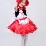 новогодние костюмы для девочек красная шапочка