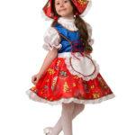 новогодние костюмы для девочек красная шапочка фото