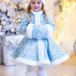 новогодние костюмы для девочек снегурочка
