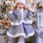 новогодние костюмы для девочек снегурочка фото