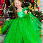 новогодние костюмы для девочек ёлочка