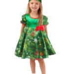 новогодние костюмы для девочек ёлочка фото