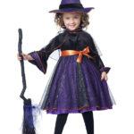 новогодние костюмы для девочек ведьма