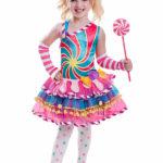 новогодние костюмы для девочек конфетка фото