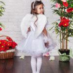 новогодние костюмы для девочек ангелочек