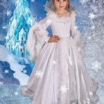 новогодние костюмы для девочек снежная королева