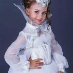 новогодние костюмы для девочек снежная королева фото