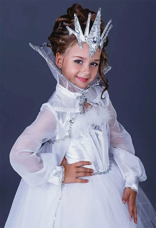 Новогодний костюм льдинка фото