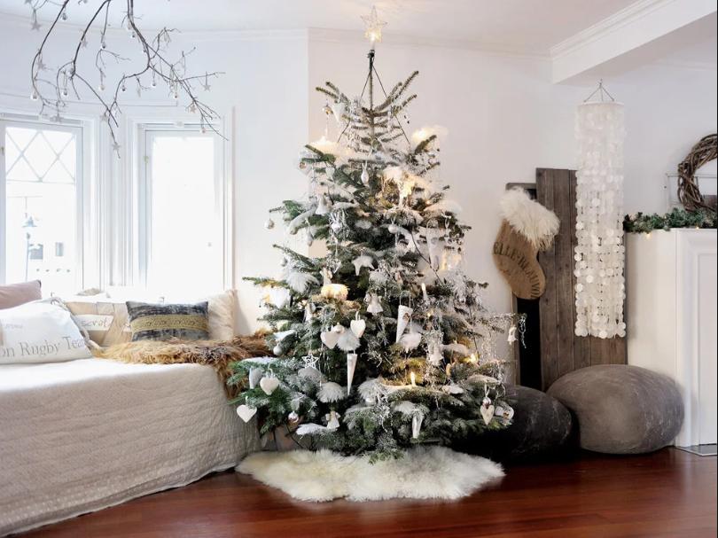 новогодний декор дома 2020