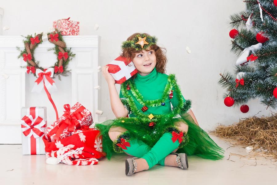 новогодний костюм для девочки эльф