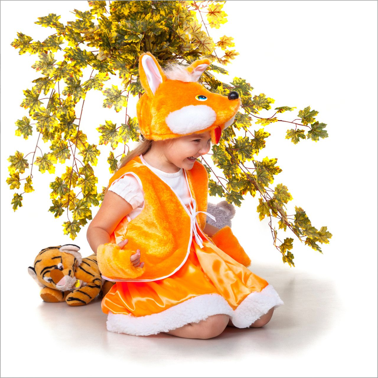 новогодний костюм для девочки лиса идеи