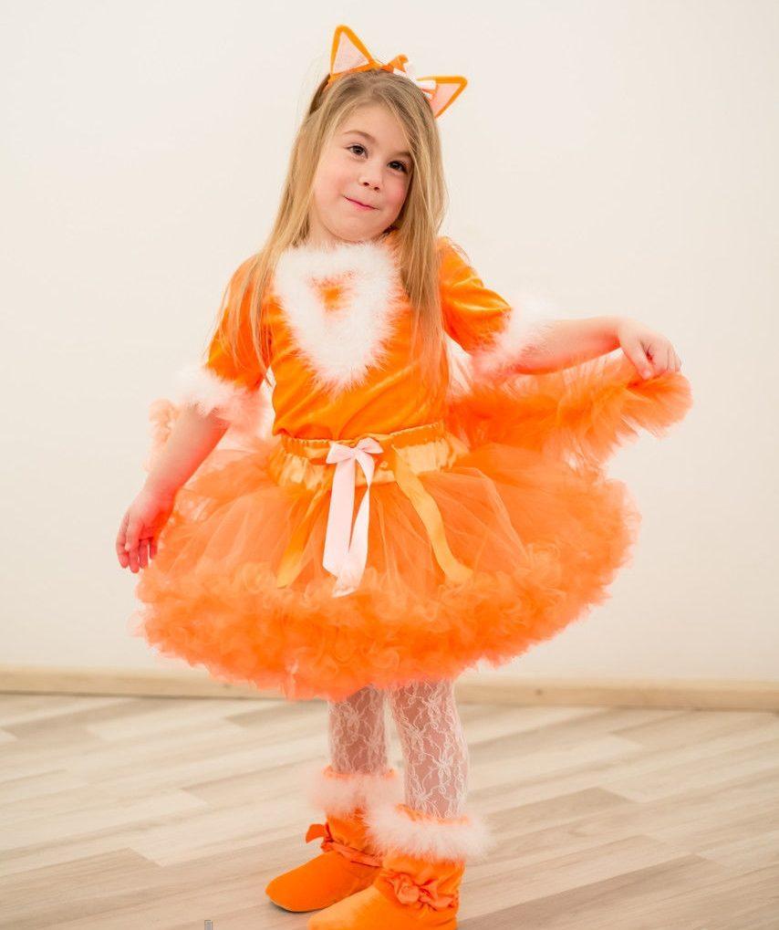 новогодний костюм для девочки лиса