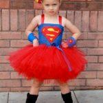новогодний костюм для девочки супермен