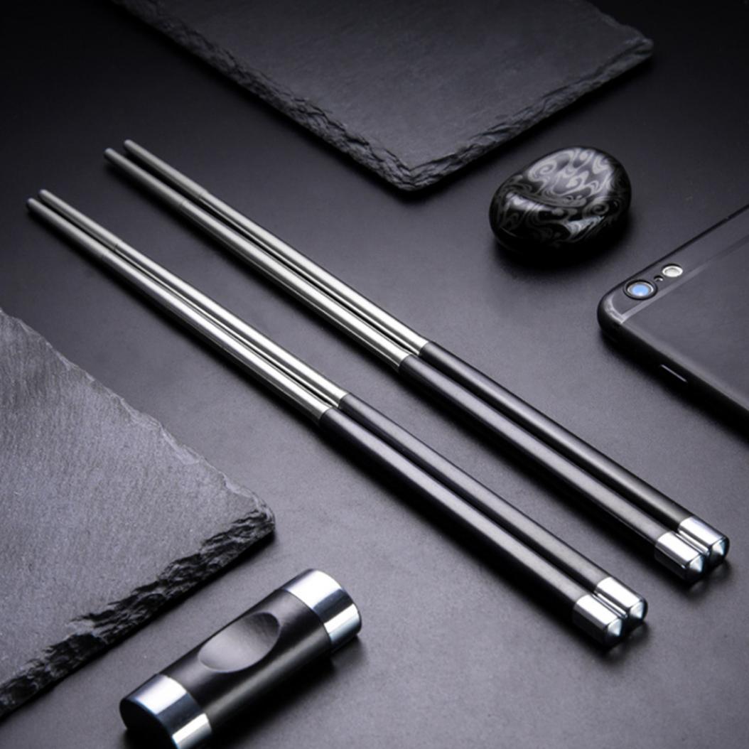 палочки для суши металлические