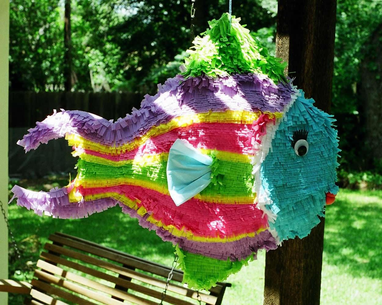 пиньята рыбка