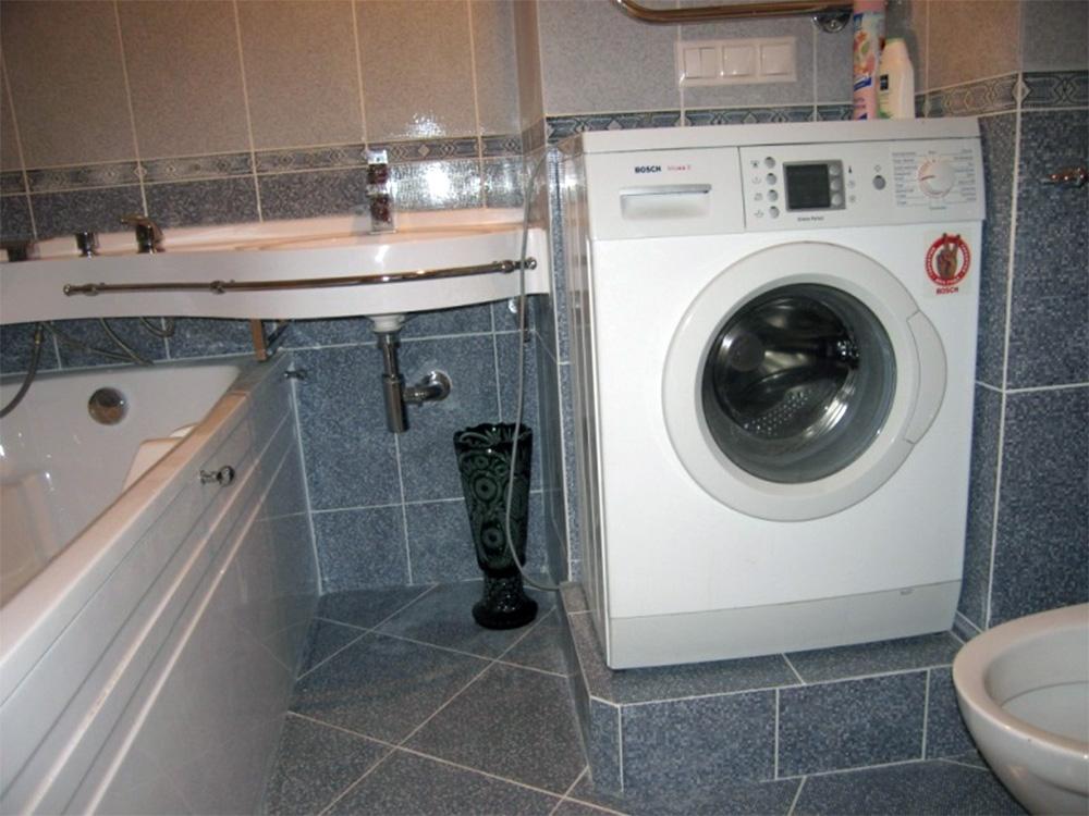 подиум под стиральную машинку