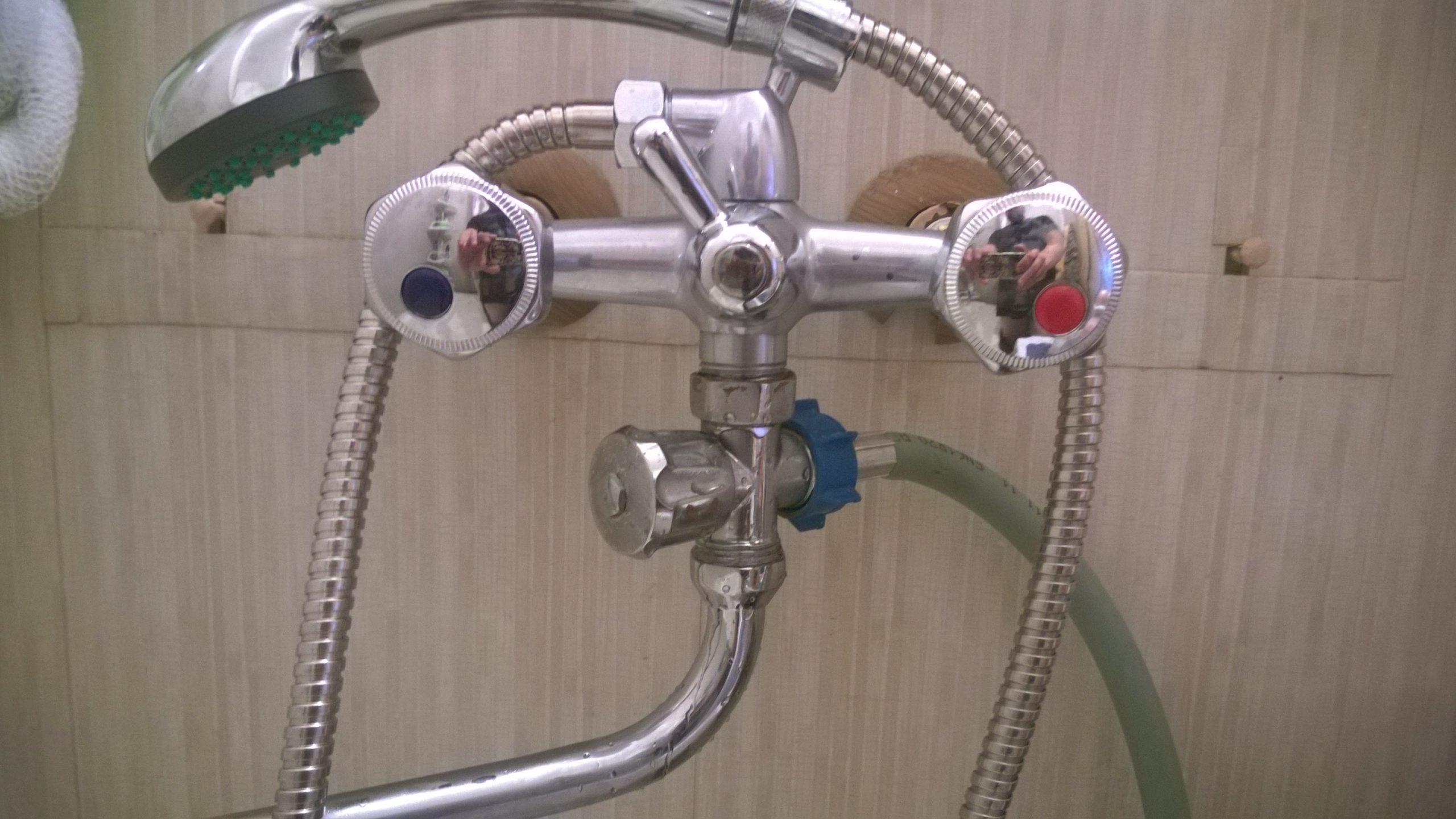 подключение стиральной машины к смесителю