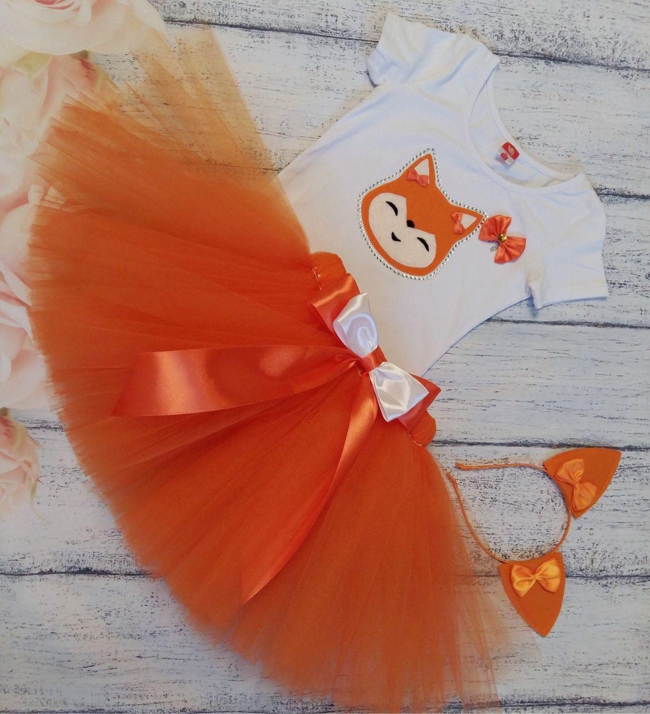 костюм лисички для девочки