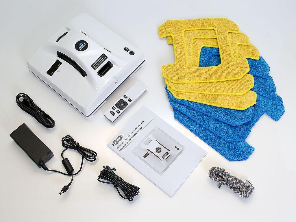 квадратный робот для мытья окон комплект
