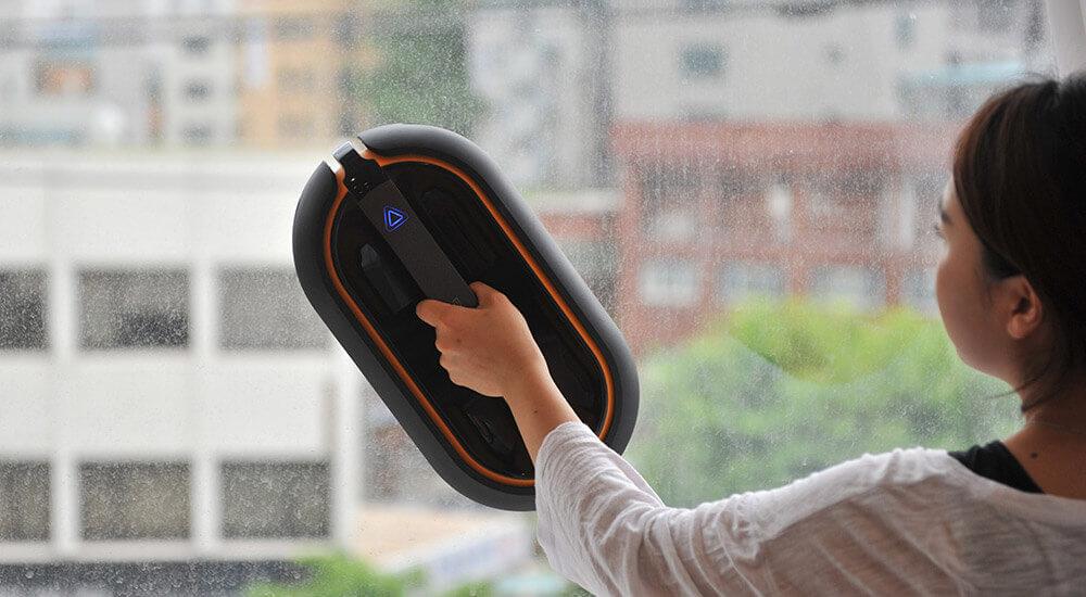 ручной робот для мытья окон