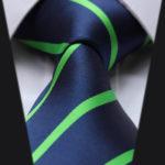 сине зеленый галстук