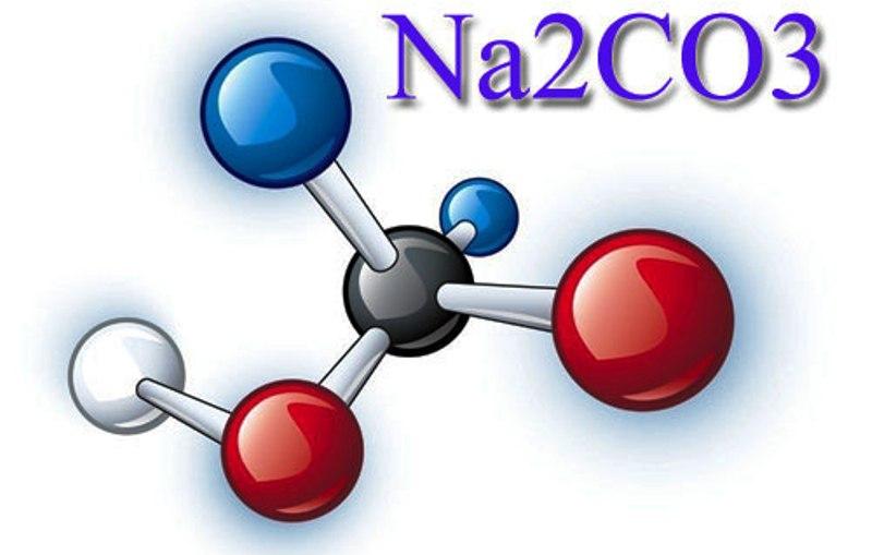сода кальцинированная молекула