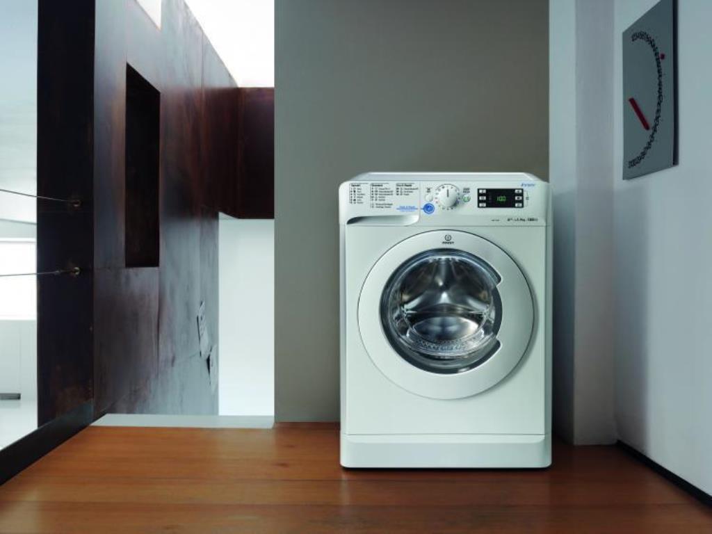 стиральная машина индезит в интерьере