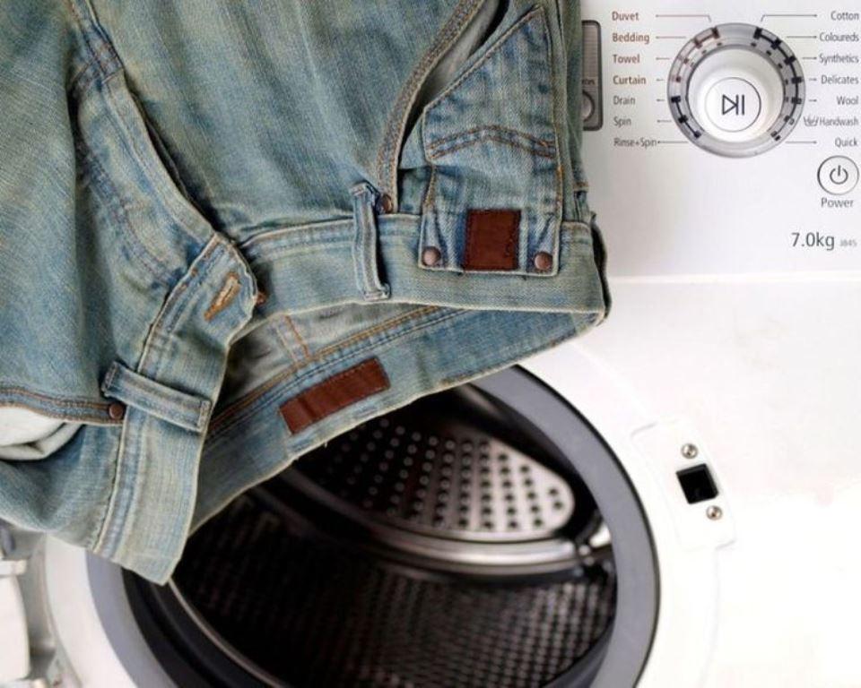 стирка джинсов в машинке