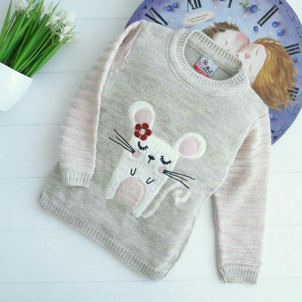 свитер с мышкой