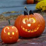 тыква на хэллоуин декор фото