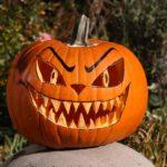 тыква на хэллоуин фото декор