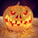 тыква на хэллоуин фото дизайн