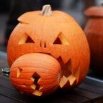 тыква на хэллоуин фото дизайна