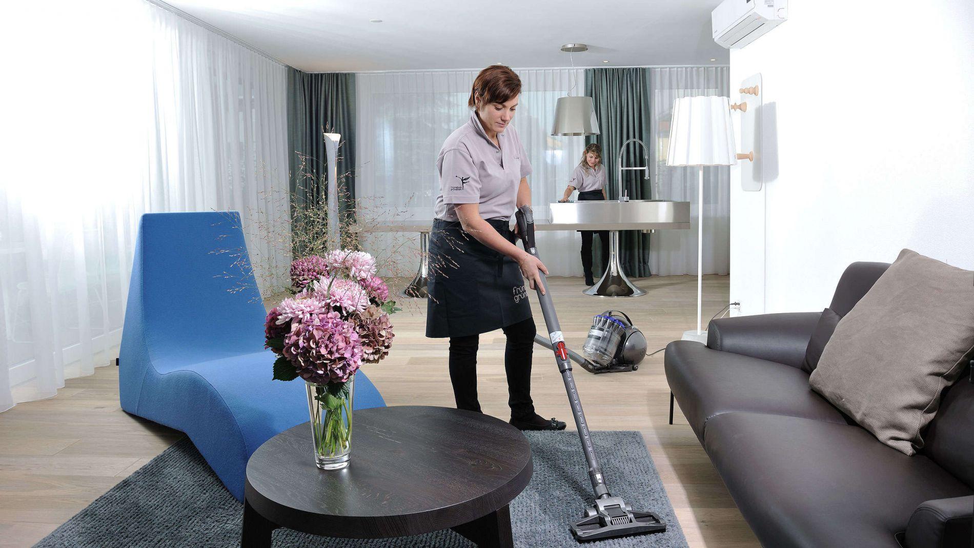 уборка гостиной