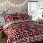 декор спальни на новый год
