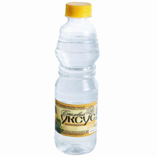 Продукт, содержащий в себе большое количество уксусной кислоты, характерен очень резким запахом, который быстро отпугивает множество паразитов.