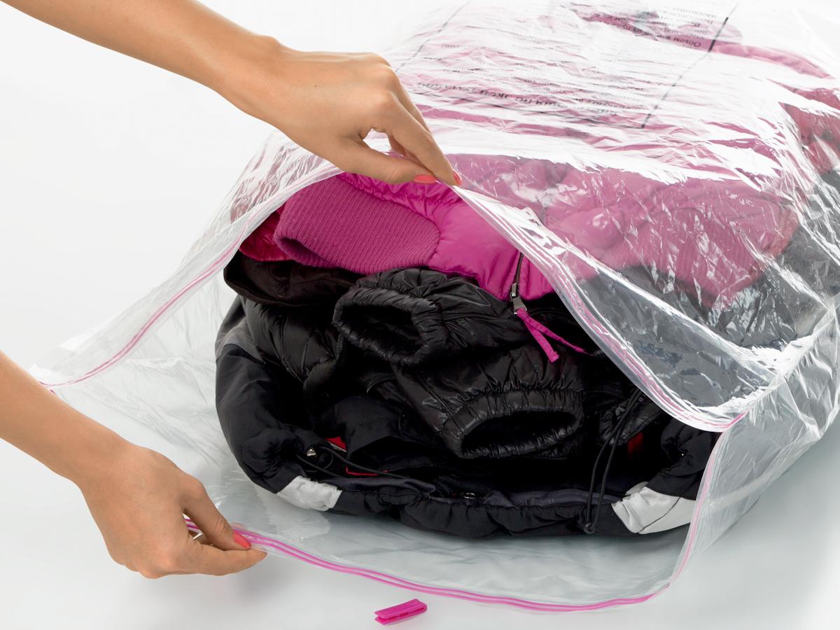 вакуумные пакеты для одежды варианты