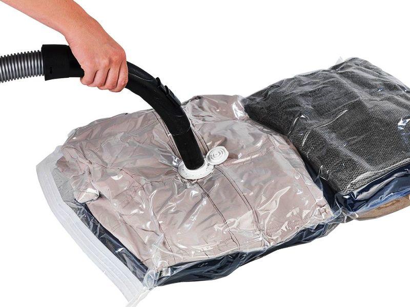 вакуумные пакеты откачать воздух