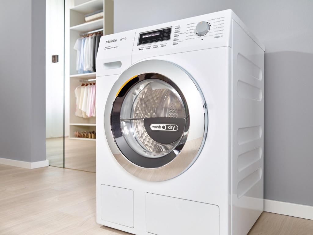 стиральная машина в квартире