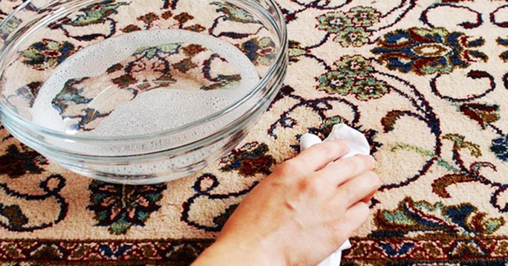 чистка ковра дома