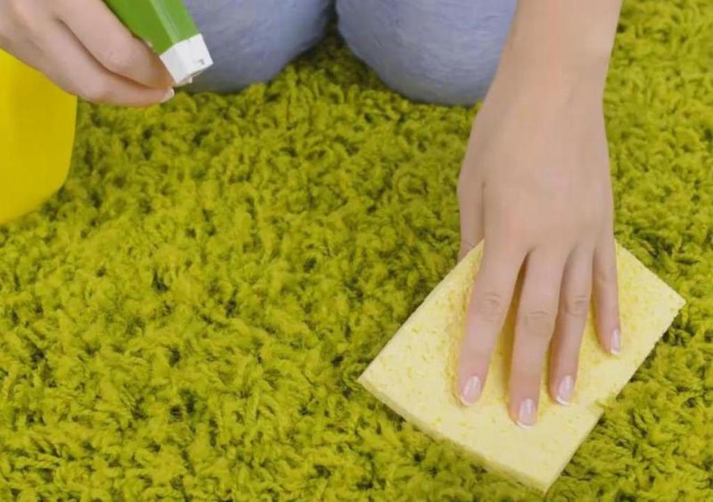 чистка ковра лимонной кислотой