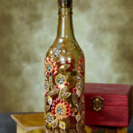 декор бутылок дизайн идеи