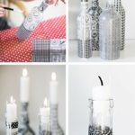 декор бутылок идеи фото