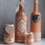 декор бутылок своими руками фото дизайн