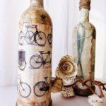 декор бутылок своими руками идеи варианты