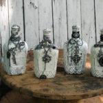 декор бутылок своими руками оформление фото