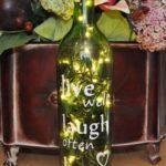 декор бутылок идеи оформление