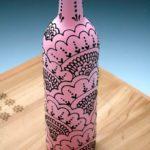 декор бутылок идеи