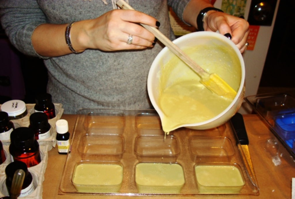 формовка мыла